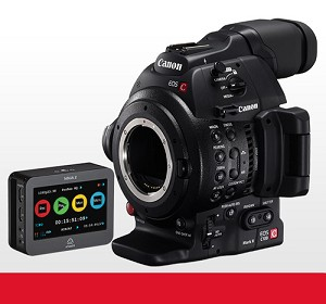DISCONTINUED: Canon C100 Mark II Cinema EOS Camera w/ Atomos Ninja 2 - 0202C013