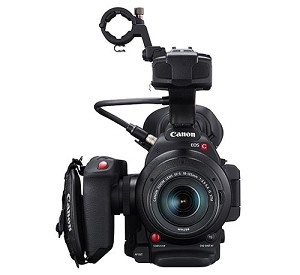 Canon C100 Mark II Cinema EOS Camera w/ EF-S 18-135mm Lens - 0297C002