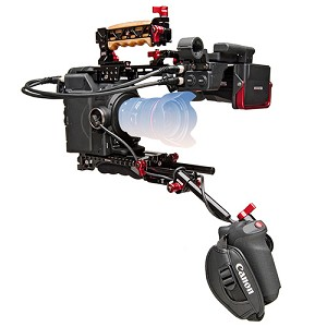 Canon C300 Mark II EF-Mount Camera w/ Zacuto Z-Finder Rig - 0635C020