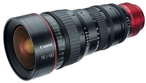 Canon CN-E14.5-60mm T2.6 L S EF Cinema Lens EF Mount - 6141B002