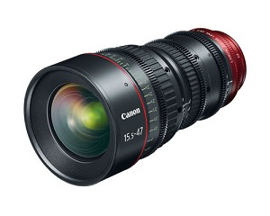 Canon CN-E15.5-47mm T2.8 L S Cinema Lens - 7622B002