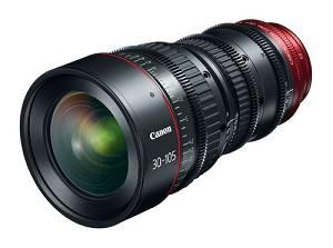 Canon CN-E30-105mm T2.8 L S Cinema Lens - 7623B002