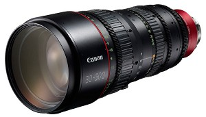Canon CN-E30-300mm T2.95-3.7 L SP Cinema Lens PL Mount - 6142B001