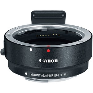 Canon EF-M Lens Adapter for Canon EF / EF-S Lenses - 6098B002