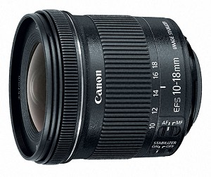 Canon EF-S 10-18mm f/4.5-5.6 IS STM Ultra Wide Zoom Lens – 9519B002