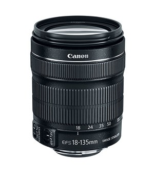 Canon EF-S 18-135mm f/3.5-5.6 IS STM Lens - 6097B002