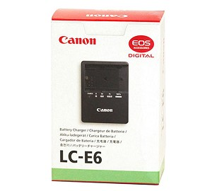 Canon LC-E6 Battery Charger for LP-E6 Battery - 3348B001
