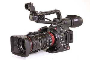 Canon C100 Mark II Cinema Camera & CN-E18-80mm Compact-Servo Lens