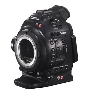 Canon C100 Cinema EOS Camera w/ Dual Pixel CMOS AF Feature Upgrade - 7428B002