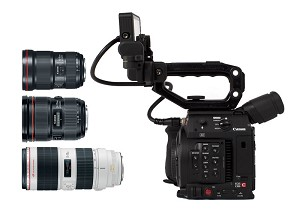 Canon C200 Triple Lens Kit w/ 16-35mm, 24-70mm, 70-200mm - 2215C012