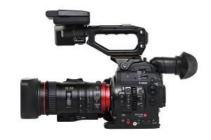 Canon C300 Mark II Cinema Camera & CN-E18-80mm Compact-Servo Lens