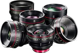 Canon Cinema Primes & Cinema Zooms Instant Rebate