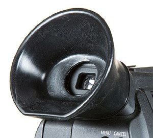 C-CUP: Custom Eyecup for the Canon C100 - CCUP - DISCONTINUED