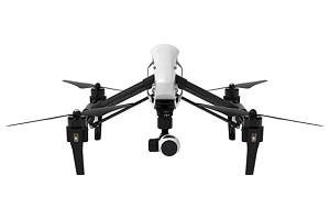 DJI Inspire 1 Quadcopter w/ 4K Camera and 3-Axis Gimbal, Single Remote