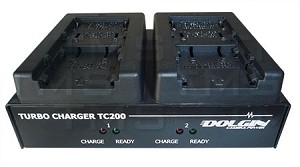 Doglin TC200 Dual Battery Charger for Canon Camcorder Batteries