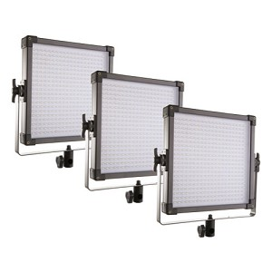 F&V K4000S Bi-Color LED Studio Panel | 3-Light Kit - 109041010235