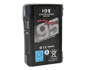 IDX Endura Duo 14.4V 93Wh Lithium-Ion V-Mount Battery - DUO-C95