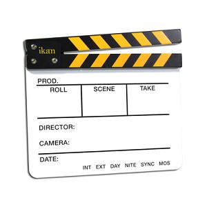 ikan Wood Clapper Production Slate - PS01