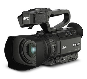 JVC 4KCAM Camcorder w/Streaming Host USB , 12x Lens - GY-HM200U
