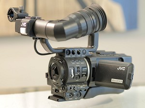 JVC GY-HD100U Camcorder w/ IDX Battery Plate USED
