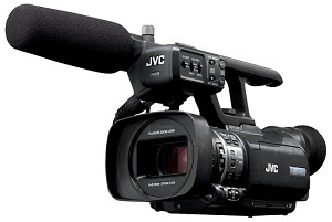 JVC GY-HM150U Compact Hand-Held 3-CCD Camcorder