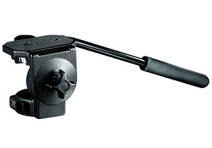 Manfrotto Micro Fluid Video Tripod Head, 2-Way Adjustable - 128LP
