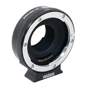Metabones Canon EF Lens to Micro 4/3 Smart Adapter - MB_EF-m43-BM1