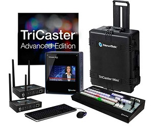 New Tek TriCaster Mini HD-4i Advanced Bundle