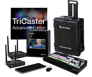 NewTek TriCaster Mini HD-4SDI Advanced Bundle