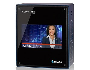 NewTek TriCaster Mini Advanced HD-4i Bundle w/ Control Surface, Travel Case