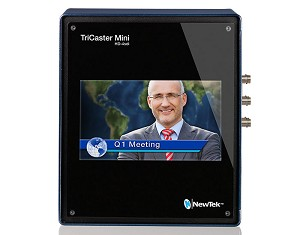 NewTek TriCaster Mini Advanced HD-4sdi Bundle w/ Control Surface, Travel Case