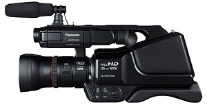 Panasonic AG-AC8 Shoulder-Mount AVCCAM HD Camcorder