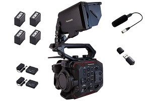Panasonic EVA1 Basic Bundle: Camera & Accessories - AU-EVA1BASIC