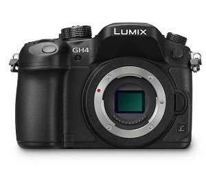 Panasonic Lumix GH4 Body - 4K DSLM Camera - DMC-GH4KBODY