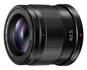 Panasonic Lumix G 42.5mm f1.7 ASPH. Lens with Power O.I.S. - H-HS043