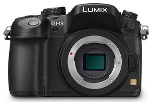 Panasonic DMC-GH3KBODY Lumix GH3 Mirrorless Lens Camera Body