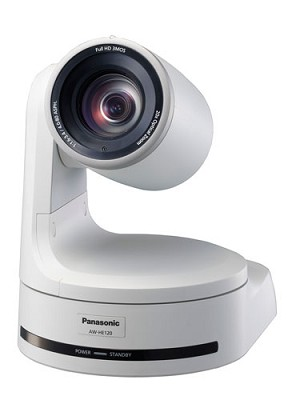 Panasonic AW-HE120W HD/SD Pan/Tilt/Zoom Camera - White