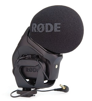Røde Stereo VideoMic Pro - On-Camera Microphone