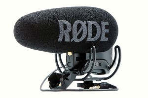 Rode VideoMic Pro-R+ On-Camera Shotgun Microphone w/ Rycote Lyre Shockmount
