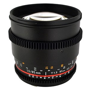 Rokinon 85mm T1.5 Cine Aspherical Lens for Canon - CV85C