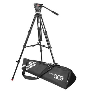Sachtler ACE Tripod 1001 w/  Mid Level Spreader