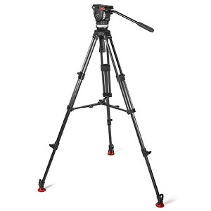 Sachtler ACE L MS CF Fluid Head Tripod w/ Mid-Level Spreader - 1011 B-Stock