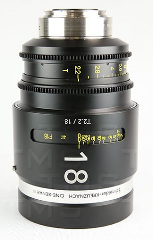 Schneider Optics CINE-XENAR III 18MM/T2.2 CAN (m) - CX-1072712