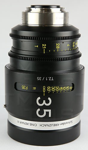 Schneider Optics CINE-XENAR III 35MM/T2.1 PL (ft) - CX-1072027