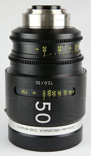 Schneider Optics CINE-XENAR III 50MM/T2.0 EF (m) - CX-1072715