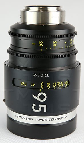 Schneider Optics CINE-XENAR III 95MM/T2.0 EF (ft) - CX-1072705