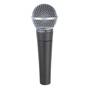 Shure SM58 Microphone, Cardioid Dynamic, No On/Off Switch - SM58-LC