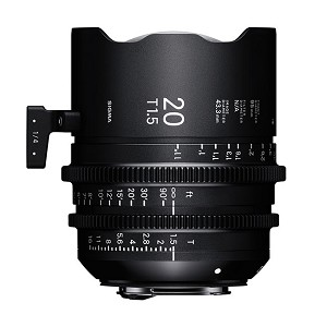 Sigma 20mm T1.5 FF High Speed Prime Lens E Mount - 412967