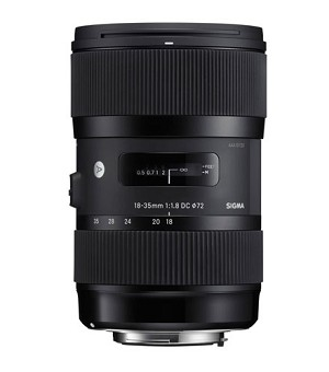 Sigma 18-35mm F1.8 DC HSM Lens for Canon - 210-101