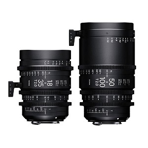 Sigma 18-35mm & 50-100mm Cine Zoom Lens Kit EF Mount - WZQ966